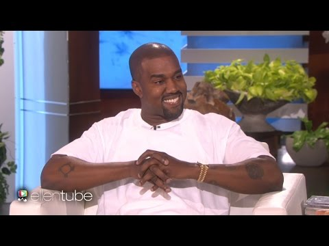 Kanye West Goes On MASSIVE Rant On Ellen & Leaves Her Speechless