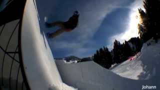 Best of Snowboarding: best of railing, urban city snowboarding