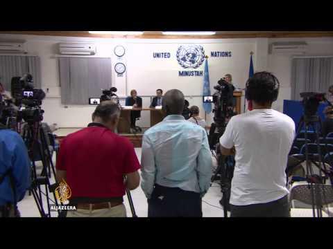 UN Security Council calls for early Haiti polls