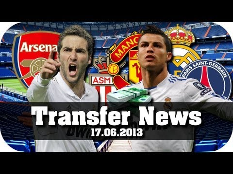 Transfer News #02 [17.06.13] - Ronaldo in Manchester, Paris, Madrid oder Monaco !? [Fußball-Talk]