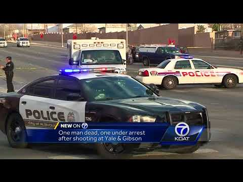 One dead, one arrested after shooting at Yale & Gibson