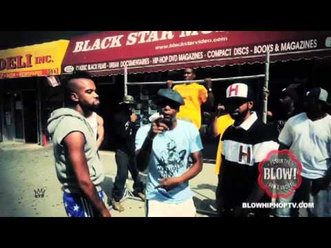 &quot;MALCOLM GARVEY HUEY&quot; DEAD PREZ FT. DIVINE RBG: BLOWHIPHOPTV.COM
