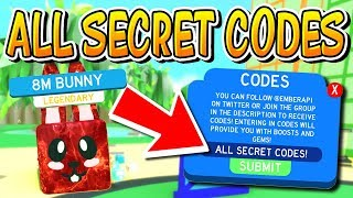 ALL UPDATE 15 CODES AND SECRET AREAS IN SLAYING SIMULATOR!!!