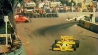 1978 Formula 1 Villeneuve Long Beach crash !Amateur 8mm!.mp4