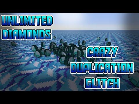 *CRAZY* MINECRAFT DUPLICATION GLITCH | UNLIMITED DIAMONDS! | PS4, XBOX ONE, ETC |