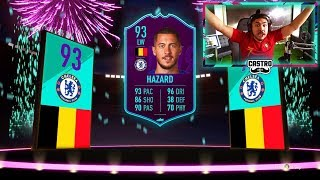 I GOT 93 POTM HAZARD!! 3 WALKOUTS!! FIFA 19