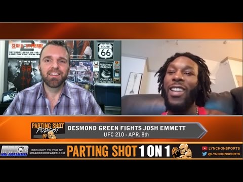 UFC 210: Desmond Green - Week #5 Video Blog