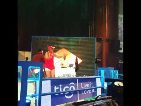 Guru performs with Bukom Banku at Ghana Meets Naija #tgmn16
