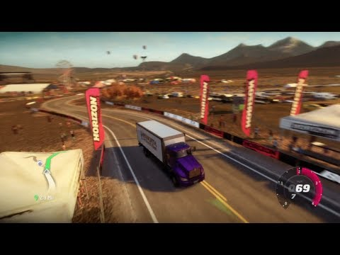FORZA HORIZON MOD - DRIVING TRAFFIC CARS (TOUR BUS, SEMI-TRUCK, SUV's & MORE!)