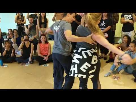 CZC18 Renata & Jorge workshop demo ~ Zouk Soul