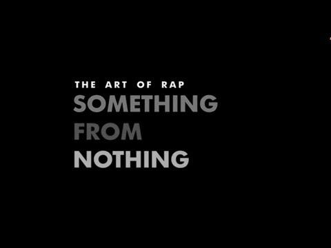 Что-то из ничего искусство рэпа  something from