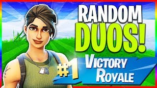 🔴 Random Duos!! // NEW Skins in Item Shop! (Fortnite: Season 5 LIVE Gameplay)