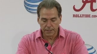 Nick Saban's full press conference as the Tide preps for Tennessee