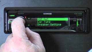 Kenwood Excelon KDC-X998 - Out Of The Box