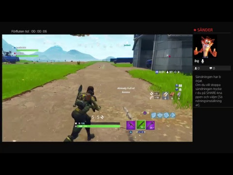 Fortnite game play /svenska