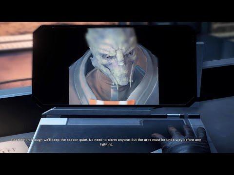 Mass Effect Andromeda - All Alec Ryder Memories ( Shepard, Garrus, Liara Easter Egg ) streaming vf