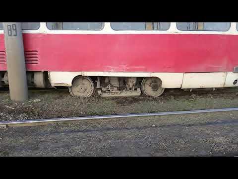 Сход трамвая Харьков