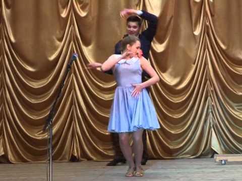 Танец коллектива эстрадного танца ВИЗАВИ г Нелидово Маленькая интрижка