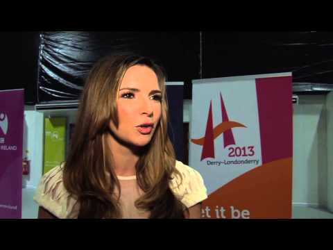 Nadine Coyle - Sons & Daughters Interview 20.01.13