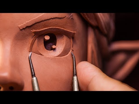 Sculpting Link from The Legend of Zelda Traditionally - Sculpture_Geek