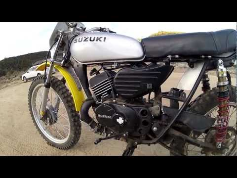1975 TS100 w/RT (Genuine Suzuki Racing and Tuning Kit) Package