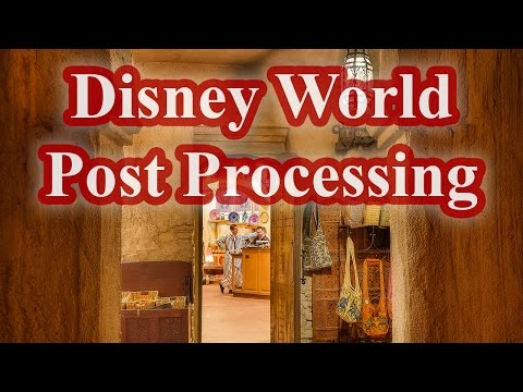 Disney World Post Processing Photo Of Epcot's Morocco (Hyper-Speed) With Eric Marks