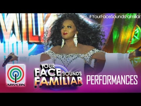 Your Face Sounds Familiar: Jolina Magdangal as Diana Ross -