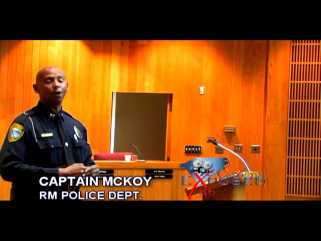 Rocky Mount NC Town Hall Meeting: Carolina Exposed Coverage