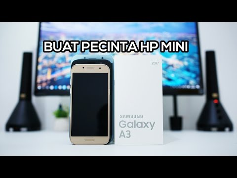 Unboxing Samsung Galaxy A3 2017 Indonesia - Gold Sand!