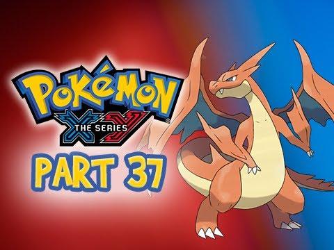 Pokemon X and Y Gameplay Walkthrough Part 37 - Mega Charizard - Gym Leader Ramos