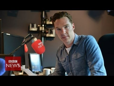 Benedict Cumberbatch reads D-Day news bulletin - BBC News