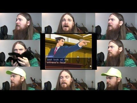 Phoenix Wright - Cornered Acapella video
