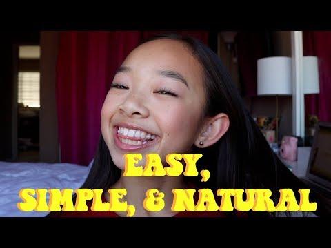 EASY, SIMPLE, & NATURAL MAKEUP TUTORIAL | Nicole Laeno