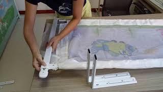 Cách lắp thanh chắn giường