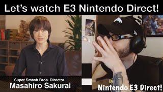 Let's watch the Nintendo E3 2018 Direct! (Super Smash Bros) | Ro2R