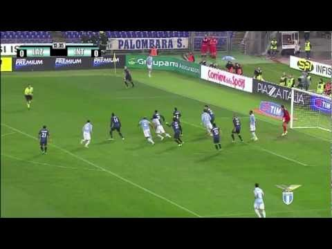 Highlights Lazio - Inter 1-0