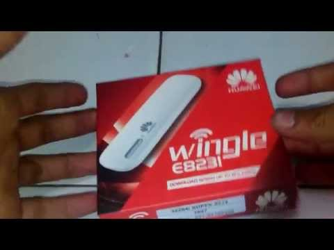 Spesifikasi Review Unboxing Wifi Modem USB Huawei E8231 21.6mbps
