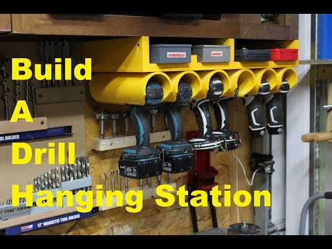 Drill/Driver Hanging Station