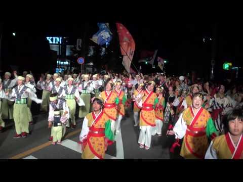 総踊り・正調よさこい(Ⅱ)@2014 坂戸よさこい前夜祭