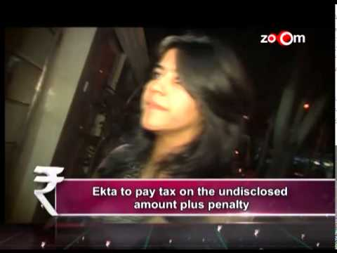Business of Bollywood : Ekta Kapoor Charged with tax Evasion worth 30 cr