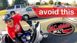 Don't Drop your Motorcycle: 5 Tips + 3 Riding Exercises