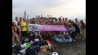 WelcomeTokyo Meetup The Beach Party Crazy Games Enoshima kugenumakaigan