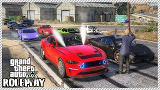 GTA 5 Roleplay -  Monster Mustang Drag Street Racing | RedlineRP #235
