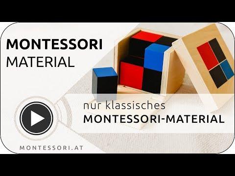 Montessori Material - warum nur klassisches Montessori-Material? | MONTESSORI.AT