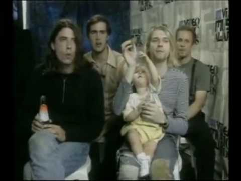 Funny Nirvana Interview/Kurt Cobain VS Frances Bean The Cookie Fight