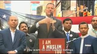ISI PIDATONYA BIKIN MERINDING, INILAH VIDEO AKSI BELA ISLAM DI NEWYORK, AMERIKA