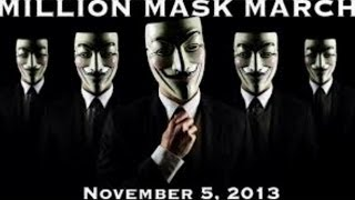 Anonymous Million Mask March 2013 highlights - Truthloader #MillionMaskMarch