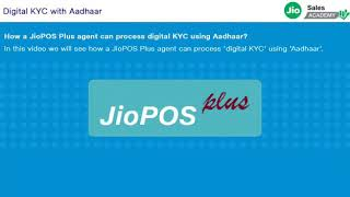Jio activation without finger print    Digital kyc