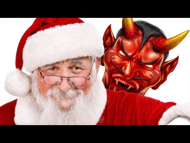 Is Santa Satan?