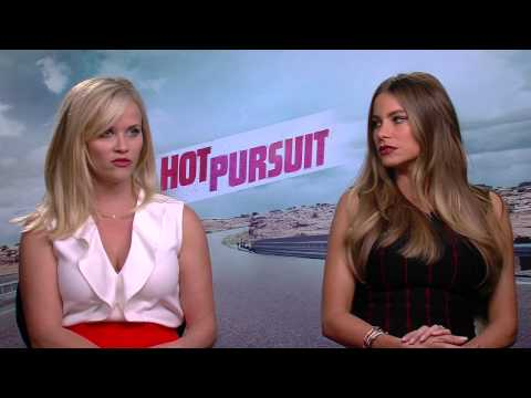 Hot Pursuit: Reese Witherspoon & Sofia Vergara Funny Movie Interview